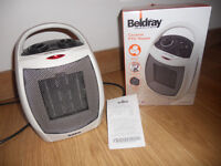 Moving Sale - Ceramic PTC Heater with box and receipt- £7