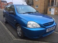 KIA RIO 1.3 LE 5 DOORS HATCHBACK ★PETROL ★MANUAL ★LOW MILEAGE ★FULL MOT ★EXTREMELY CHEAP TO MAINTAIN