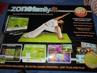 ZONE FAMILY FITNESS & GAMING SYSTEM