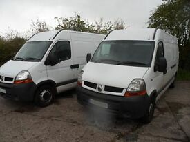 Man With Van(s). LWB, Fully Carpeted Vehicles. Professional drivers. £18 P/HR