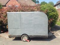Large box trailer / camper / motorbike transporter