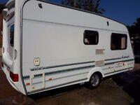 Swift 2berth caravan