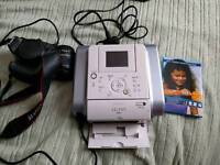 Digital camera Canon eos 1000d and printer canon selphy ds810