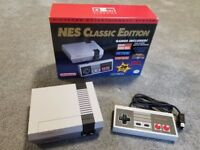 NEW BOXED Official Rare Nintendo NES Classic Mini Edition Games Console with 30 inbuilt games