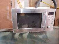 Microwave - stainless steel, perfect condition