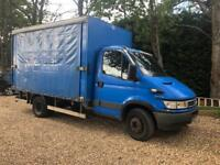 2006/56 iveco daily 6.5 ton curtain side