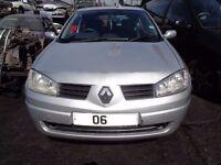 BREAKING --- Renault Megane Extreme 1.4L Petrol 100BHP ----2006