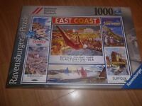 1000 piece East Coast Jigsaw