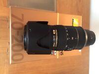 Nikon AF-S 70-200mm f/2.8G IF-ED VR II