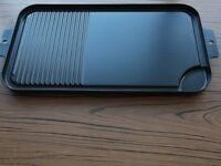 Double Griddle Aluminium Pan