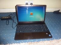 Sony vaio laptop with charger