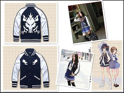 Kill la Kill Matoi Ryuko cosplay kostüm Hoodie Sweater Uniform Coat Jacket (Ryuko Cosplay Kostüm)