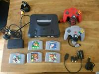 Nintendo 64 Console Bundle with games