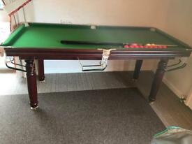 6ft x 3ft Riley snooker table