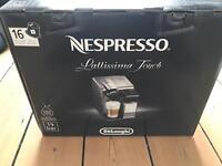 NESPRESSO Lattissima Touch DeLonghi Espresso Coffee Machine