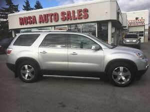 2011 GMC Acadia AWD HUD PW PM PL PD NAV NO ACCIDENTSAFETY E TEST