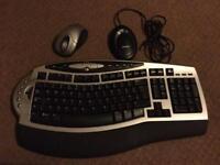 Microsoft wireless keyboard and mouse set