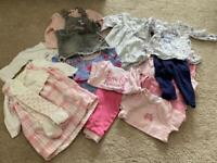 Baby girl 6-9 month clothes bundle