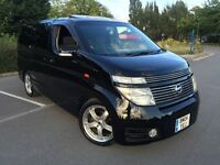 NISSAN ELGRAND 3.5 AUTO 8 SEATER FRESH IMPORT TWIN SUNROOF