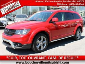 2016 Dodge Journey Crossroad*CUIR, TOIT, AWD, AIR CLIM*
