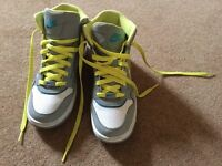 Ladies Nike High Top Trainers, size 5.5