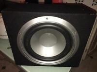 Sub woofer bass box 1000W with sony amplifier include