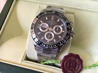 New Swiss Rolex Daytona Eta 7750 Automatic Watch