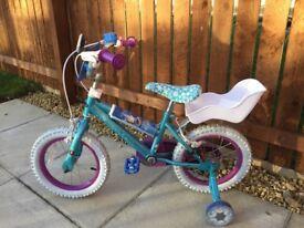 Child's Frozen Bike 12 inch