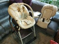 HAUCK high chair from the birth
