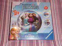 Brand New - Frozen 3D Puzzle Ball / Jigsaw