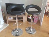 Gas air bar stools