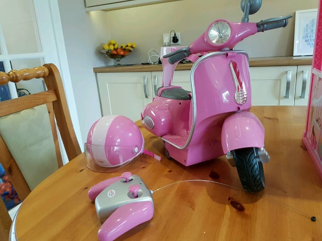 Baby Born Motorbike