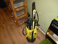 Karcher k4 full control pressure washer only used once