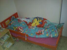 children's bed with mattress