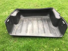 BMW X3 boot liner and dog guard