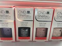 CND Shellacs brand new and boxed 100% genuine