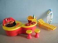 SINDY DOLLS TOY BARBECUE