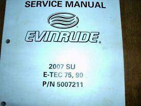 Outboard Engine Service - Evinrude E-Tec 75