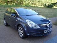2009 VAUXHALL CORSA AUTOMATIC PETROL, 5 DOOR HATCHBACK, HPI CLEAR, PERFECT RU...