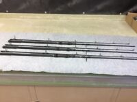 NASH SCOPE 10FT 3,1/2 LB CARP RODS, EXCELLENT CONDITION slight signs of use