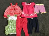 Bundle of baby girls clothes 3-6 Months - including Monsoon, Zara