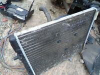 VW POLO 1.2 RADIATOR AND FAN
