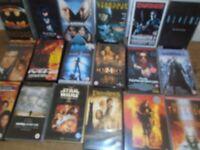 18 x VHS videos good condition