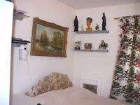 Well Furnished with large bed in clean, comfortable Room