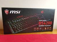 (NEW) MSI Gaming Keyboard
