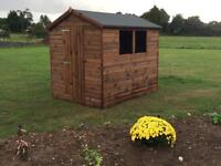 New top quality handmade 6x8 Garden Sheds