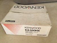 KENWOOD KX-550HX Cassette Deck