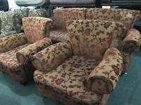 Stunning fabric 3 11 sofa set