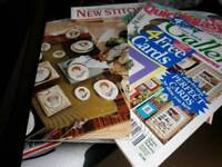 Cross stitch mags