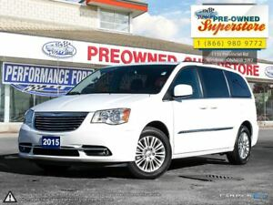 2015 Chrysler Town & Country Touring-L***leather, DVD, power sli
